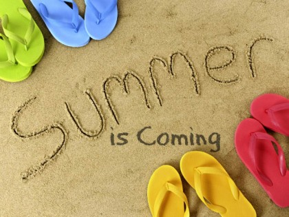Summer-is-coming-shoes-image-and-saying